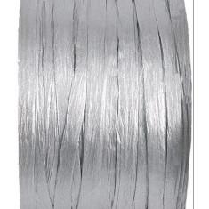 Raphia métallisé Argent - 100 mètres