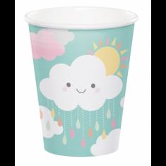 8 gobelets nuage