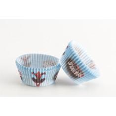 Caissettes cupcakes Spiderman  x50