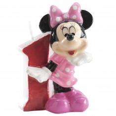 Bougie d'anniversaire « Ambiance » - Minnie n°1