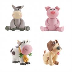 Figurine animal ferme - 6 cm x 7 cm