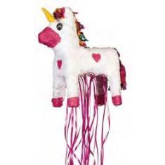 Piñata licorne avec rubans
