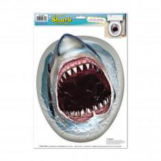 Sticker cuvette requin