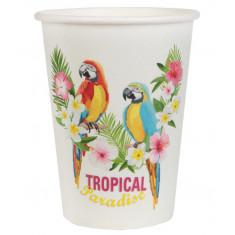 10 Gobelets Tropical Paradise