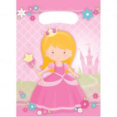 x8 Sachets à bonbons Princesse