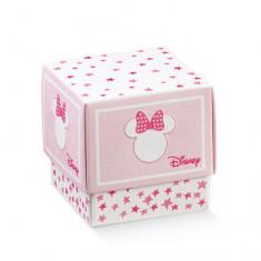 10 boites à dragées Minnie cube