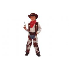 Costume garçon cowboy - 7/9 ans