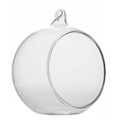 Boule verre ouverte - 8 cm