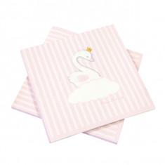 x20 Serviettes papier Babyshower rose