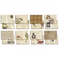 Album 8 feuilles scrapbooking thème nature