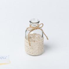 Vase bohème dentelle