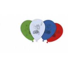 8 ballons latex - Avengers