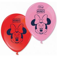 8 ballons Minnie
