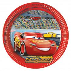 8 assiettes Cars 3 - 23 cm