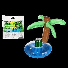 Porte bouteille gonflable cocotier