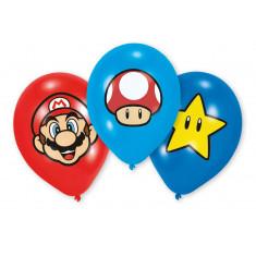 6 Ballons Super Mario
