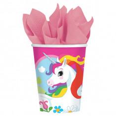 8 Gobelets licorne 266 ml