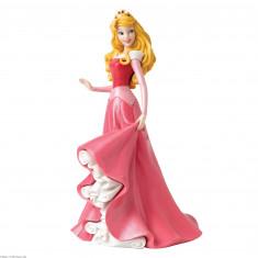 Figurine Aurore en robe de bal rose