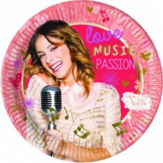 8 assiettes Music Passion Violetta – 23 cm