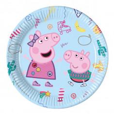 8 Assiettes Peppa Pig 23 cm