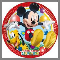 Assiettes Mickey Playful - 23 cm Ø - x8