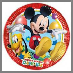 Assiettes Mickey Playful 20 cm Ø - x8