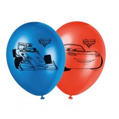 8 ballons imprimés - Cars Ice Racers