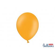 10 ballons latex  27 cm – orange pastel