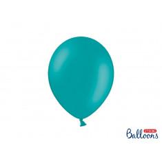 10 ballons 27 cm - bleu lagon pastel