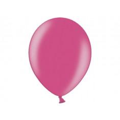 100 ballons 12 cm - fuchsia métallisé