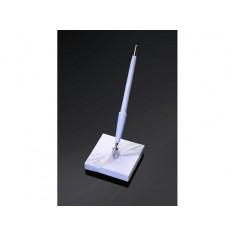Socle stylo blanc