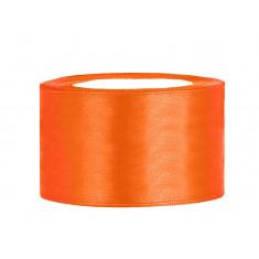 Ruban satin 38 mm - orange