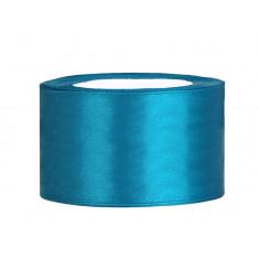 Ruban satin 38 mm - turquoise