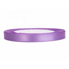 Ruban violet en satin - 6 mm x 25 m