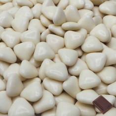 1kg Dragées petits cœurs - ivoire