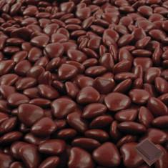 1kg Dragées coeur chocolat - moka
