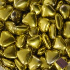 1 kg dragées cœur chocolat – or