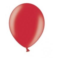 100 ballons rouges métalliques - 29 cm