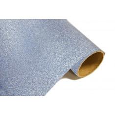 Chemin de table effet métal pailleté - Glacée
