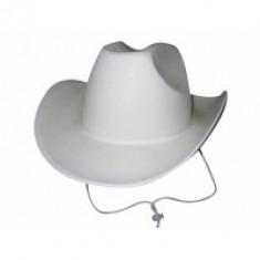 Chapeau cowboy - blanc