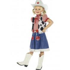 Déguisement fille Cow Girl