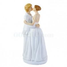 Figurine couple mariées femme
