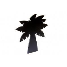 Porte-menu ardoise palmier
