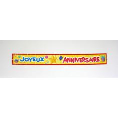 "Banderole ""Joyeux Anniversaire"""