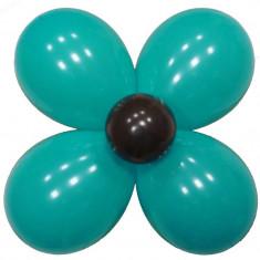 Ballon fleur de couleur
