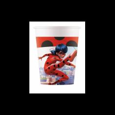 gobelets miraculous ladybug x8