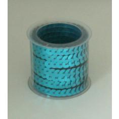 Ruban cercles couleur bleu