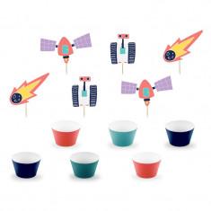 Kit cupcakes thème Galaxy