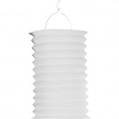 Lampion accordéon blanc