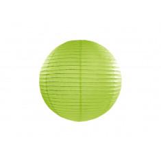 Lanterne papier vert pomme - 35 cm